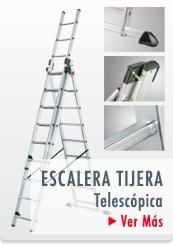 ESCALERAS PROFESIONALES TIJERA TELESCOPICA - HAILO CHILE