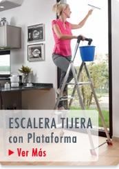 ESCALERAS COMERCIALES TIJERA PLATAFORMA  - HAILO CHILE